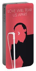 No212 My Joy Division Minimal Music Poster Portable Battery Charger