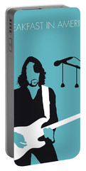 No215 My Supertramp Minimal Music Poster Portable Battery Charger