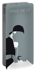 No217 My Avicii Minimal Music Poster Portable Battery Charger