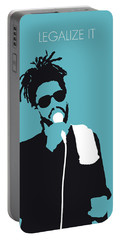 No225 My Peter Tosh Minimal Music Poster Portable Battery Charger