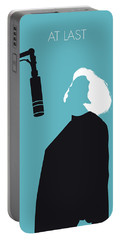 No235 My Etta James Minimal Music Poster Portable Battery Charger