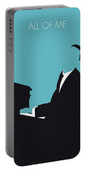 No255 My John Legend Minimal Music Poster Portable Battery Charger