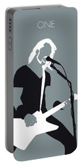 No257 My Metallica Minimal Music Poster Portable Battery Charger