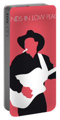 No272 My Garth Brooks Minimal Music Poster Portable Battery Charger