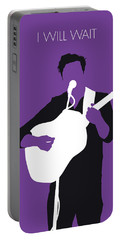 No291 My Mumford And Sons Minimal Music Poster Portable Battery Charger