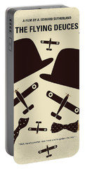No983 My The Flying Deuces Minimal Movie Poster Portable Battery Charger