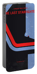 No999 My The Last Starfighter Minimal Movie Poster Portable Battery Charger