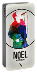 Noel Gallagher Watercolor Portable Battery Charger