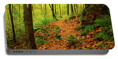 Portable Battery Charger featuring the photograph North Side Of Mount Greylock's At 2 by Raymond Salani III