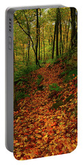 Portable Battery Charger featuring the photograph North Side Of Mount Greylock's At by Raymond Salani III