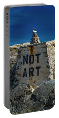 Not Art In Kennebunkport Portable Battery Charger