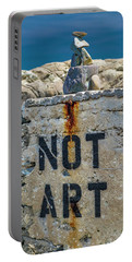 Not Art In Kennebunkport Maine Portable Battery Charger