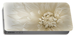 Portable Battery Charger featuring the photograph Not Quite White by Mary Jo Allen