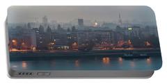 Novi Sad Night Cityscape Portable Battery Charger