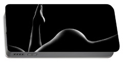 Nude Woman Bodyscape 14 Portable Battery Charger
