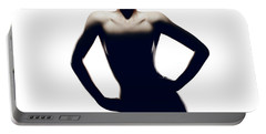 Nude Woman With Hat Portable Battery Charger