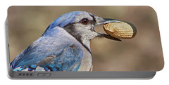 Nutty Bluejay Portable Battery Charger