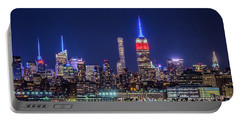 Nyc At The Blue Hour Portable Battery Charger