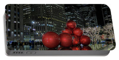 Nyc Christmas Portable Battery Charger