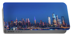 Nyc The Blue Hour Portable Battery Charger