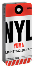 Nyl Yuma Luggage Tag I Portable Battery Charger