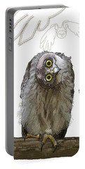 O Is For Owl Portable Battery Charger