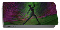 Obscured Dance Portable Battery Charger