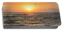 Portable Battery Charger featuring the photograph Obx Sunrise 9/17/2018 by Barbara Ann Bell