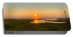 Ocean City Sunset 2019 Portable Battery Charger