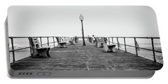 Portable Battery Charger featuring the photograph Ocean Grove Pier 1 by Steve Stanger