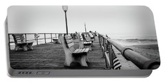 Portable Battery Charger featuring the photograph Ocean Grove Pier 2 by Steve Stanger