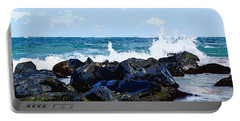 Ocean Meets The Coast Portable Battery Charger
