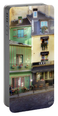 Portable Battery Charger featuring the photograph Odette Patisserie by Craig J Satterlee