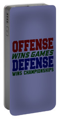 Offence Defense Portable Battery Charger
