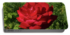Oh The Blood Red Rose Portable Battery Charger