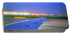 O'hare Night Takeoff Portable Battery Charger