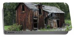 Old Cabin - Elkhorn, Mt Portable Battery Charger
