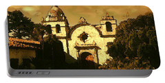 Old Carmel Mission - Watercolor Painting Portable Battery Charger