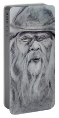 Old Man In A Hat  Portable Battery Charger