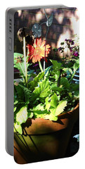 Old Pots New Blooms Portable Battery Charger