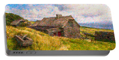 Old Scottish Farmhouse Portable Battery Charger
