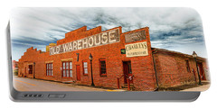 Old Warehouse In Farmville Virginia Portable Battery Charger
