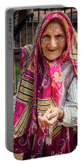 Old Woman Portable Battery Charger