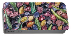 Olives Ready For Pressing Portable Battery Charger