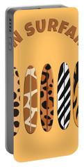 On Surfari Animal Print Surfboards  Portable Battery Charger