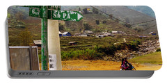 On The Way To Sapa, Vietnam Portable Battery Charger