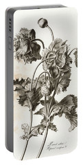 Opium Poppy Portable Battery Charger
