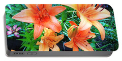 Orange Delight Portable Battery Charger