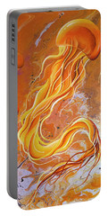 Orange Jelly Portable Battery Charger