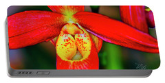 Orchid Study Seven Portable Battery Charger